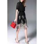 Hollow Out Embroidered Dress deal