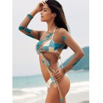 Scoop Neck See-Through Embroidered Sheer Swimsuit Cover-Up deal