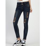 cheap High Rise Skinny Ripped Jeans