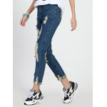 High Rise Ripped Cropped Jeans deal