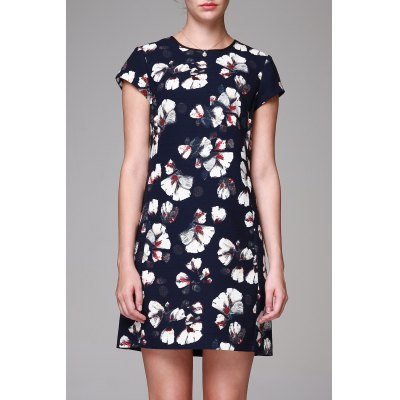 Sheath Floral Dress