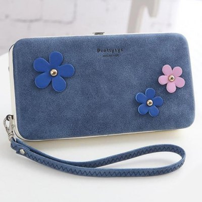 Sweet Hasp and Flower Design Clutch Wallet For WomenWomens Wallets<br>Sweet Hasp and Flower Design Clutch Wallet For Women<br><br>Wallets Type: Clutch Wallets<br>Gender: For Women<br>Style: Casual<br>Closure Type: Hasp<br>Pattern Type: Patchwork<br>Main Material: Suede<br>Length: 18.5CM<br>Width: 10CM<br>Height: 3CM<br>Weight: 0.245kg<br>Package Contents: 1 x Clutch Wallet