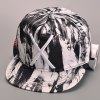 Stylish Big Letter X Embroidery Splash-Ink Hipsters Baseball Cap For Men