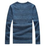 cheap Casual Solid Color V-Neck Sweater For Men