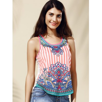 Chic Womens Scoop Neck Lace Ethnic Print Tank TopWomens Clothing<br>Chic Womens Scoop Neck Lace Ethnic Print Tank Top<br><br>Material: Lace,Polyester<br>Clothing Length: Regular<br>Pattern Type: Patchwork<br>Style: Streetwear<br>Weight: 0.370kg<br>Package Contents: 1 x Tank Top