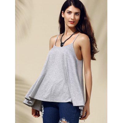 Chic Womens Backless Pure Color Spaghetti Strap Tank TopWomens Clothing<br>Chic Womens Backless Pure Color Spaghetti Strap Tank Top<br><br>Material: Polyester<br>Clothing Length: Long<br>Pattern Type: Solid<br>Style: Streetwear<br>Weight: 0.171kg<br>Package Contents: 1 x Tank Top