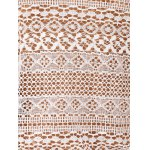 Chic Women's Scoop Neck Lace Ethnic Print Tank Top photo
