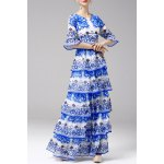 Printed Tiered Maxi Dress deal