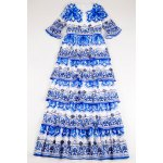 best Printed Tiered Maxi Dress