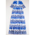 Printed Tiered Maxi Dress photo