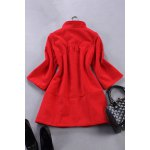 Solid Color Wool Coat photo