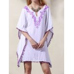 best Casual Wide Sleeve Laciness Women's Loose Dress