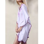Casual Wide Sleeve Laciness Women's Loose Dress photo