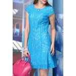 Solid Color Lace Dress for sale
