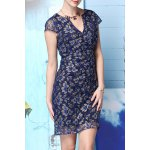 Beading Lace Spliced Dress for sale