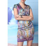 Ethnic Style Print Dress for sale