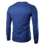 cheap Trendy Solid Color Pullover T-Shirts For Men