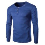 Trendy Solid Color Pullover T-Shirts For Men