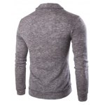 cheap Casual Solid Color Cardigan For Men