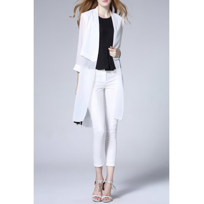 Solid Color Thin Cardigan