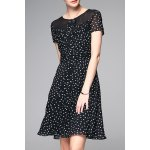 Polka Dot Chiffon Dress deal