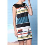 best Straight Striped Printed Dress