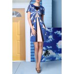 Straight Geometric Pattern Dress for sale