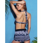 Stylish Halterneck Printed Bikini For Women for sale