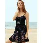 Ethnic Embroidered Women's Camisole Dress photo