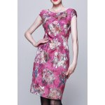 Floral Jacquard Bodycon Sleeveless Dress deal