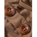 Heaps Collar Buttons Embellished Shorts Sleeve T-Shirt For Men deal