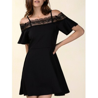 Laced Hollow Out Dress