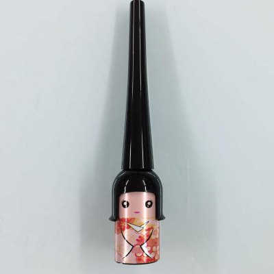 Stylish Lucky Doll Black Smooth Long Lasting Smudge-Proof Waterproof Liquid Eyeliner