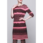 Jacquard Zippered Bodycon Dress deal