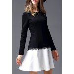 Long Sleeve Beading Dress deal