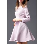 Long Sleeve Embroidered Dress deal