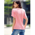 Pink Striped T Shirt for sale