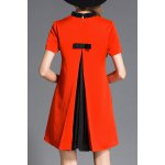 cheap A Line Bowknot Dress