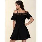 Chic Women's Laced Hollow Out Dress for sale