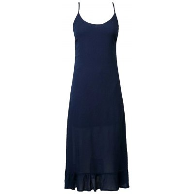 Stylish Cami Lace Up Flouncing Dress For Women