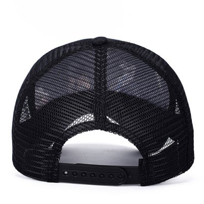 Stylish Handpainted Feathers Pattern Outdoor Casual Mesh Baseball Cap