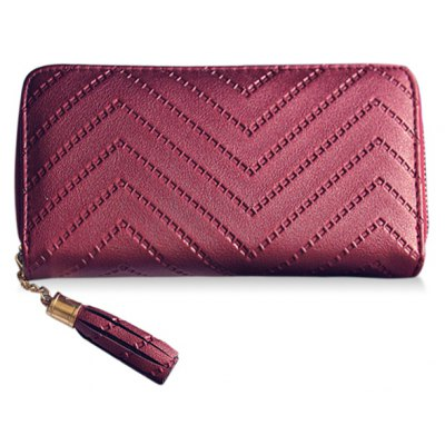 Solid Color Design Wallet For Women