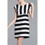 Striped Cap Sleeve Mini Dress deal