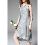 Jacquard Sleeveless Dress deal