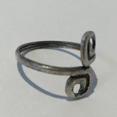 Simple Design 8-Shaped Cuff Feet Ring For Women