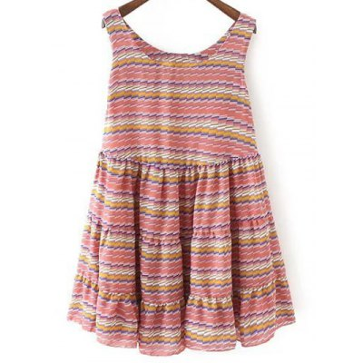 Striped Tiered Sundress
