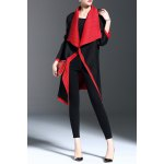 Color Block Waterfall Coat deal