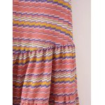 Sweet Striped Tiered Women's Sundress for sale