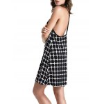 Stylish Cami Checked Pattern Women's Dress deal
