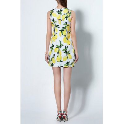 Mini Floral SundressDesigner Dresses<br>Mini Floral Sundress<br><br>Style: Casual<br>Occasion: Causal,Cocktail &amp; Party,Day<br>Material: Cotton,Polyester<br>Composition: 65% Cotton,35% Polyester<br>Neckline: Round Collar<br>Silhouette: A-Line<br>Dresses Length: Mini<br>Sleeve Length: Sleeveless<br>Waist: Natural<br>Embellishment: Pattern<br>Pattern Type: Floral<br>Elasticity: Micro-elastic<br>With Belt: No<br>Season: Summer<br>Weight: 0.300kg<br>Package Contents: 1 x Dress
